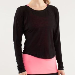 Lululemon Presence Long Sleeve Tee